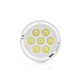 Foco Downlight  LED de Superficie Aluminio 7W 700Lm 30.000H