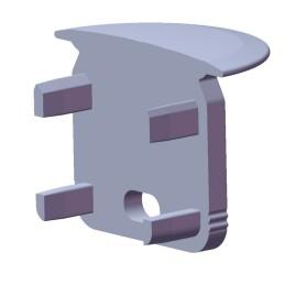 "Lámpara de Mesa de estilo nórdico \""PC L\"" Pierre Charpin Aluminio Anodizado E27 Sin Bombilla [HAY-410425_1109000]"