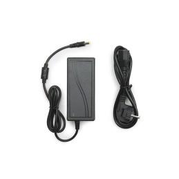 Conector 90º Carril Monofásico Negro