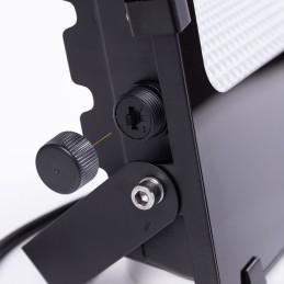 """Lámpara Suelo \""""112\"""" MDF/Polipropileno Negro/Gris E27 Sin Bombilla [OPV-390FLH1112]"""