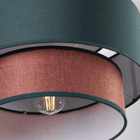 """Lámpara Colgante \""""Rylie\""""  [SKD-P2004-W]"""